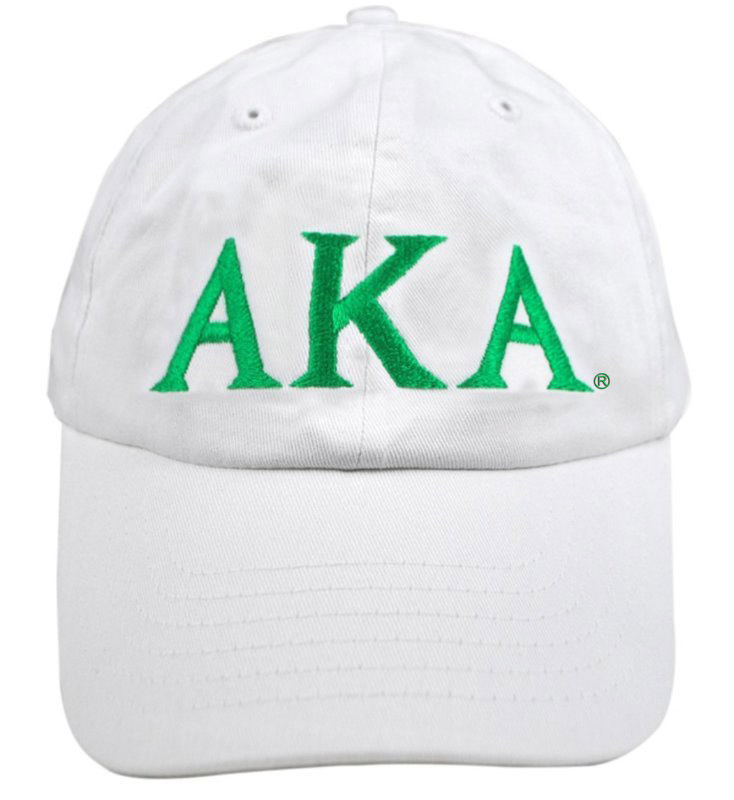 Alpha Kappa Alpha Greek Letter Hat