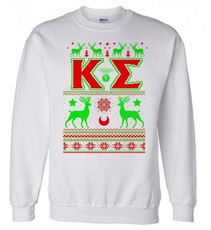 Sigma Kappa Christmas Sweatshirt