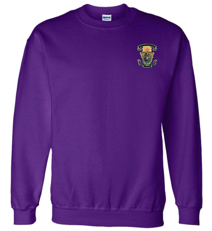 DISCOUNT-Lambda Chi Alpha World Famous Crest - Shield Crewneck Sweatshirt