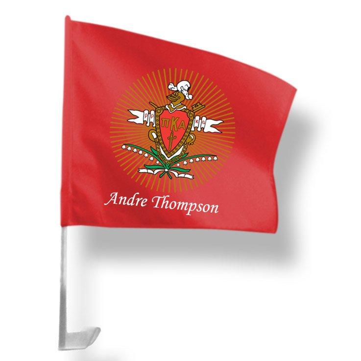 Pi Kappa Alpha Car Flag