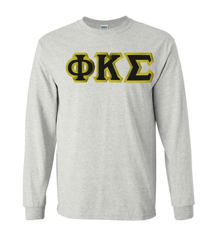Phi Kappa Sigma Custom Twill Long Sleeve T-Shirt