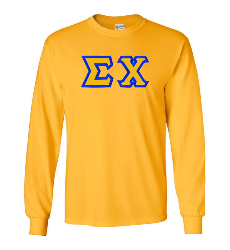 Sigma Chi Custom Twill Long Sleeve T-shirts