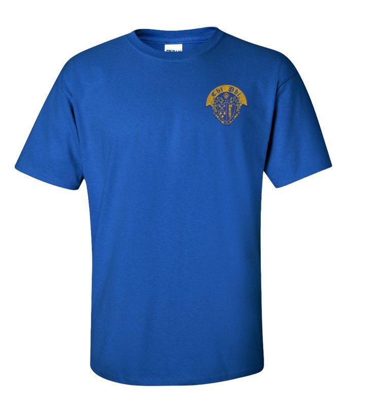 DISCOUNT-Chi Phi Crest - Shield Shirt