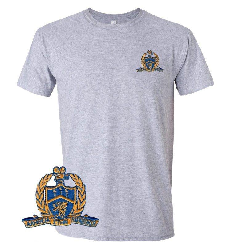 DISCOUNT-Delta Kappa Alpha Emblem Patch T-Shirt