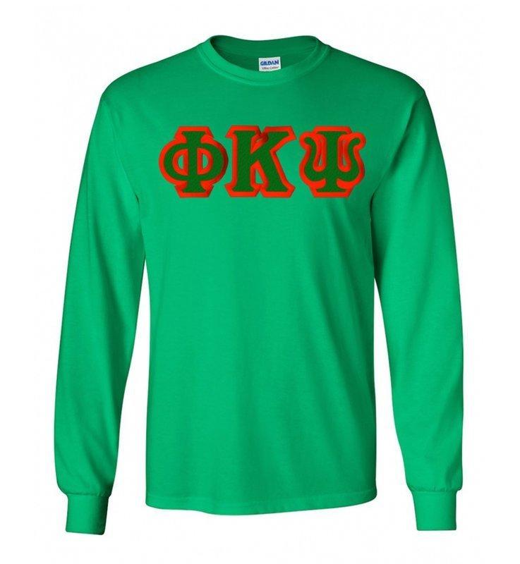 Phi Kappa Psi Lettered Long Sleeve Shirt
