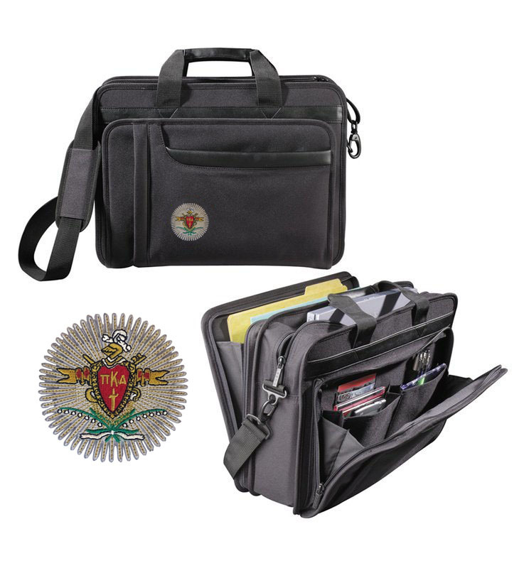 DISCOUNT-Pi Kappa Alpha Crest - Shield Briefcase Attache