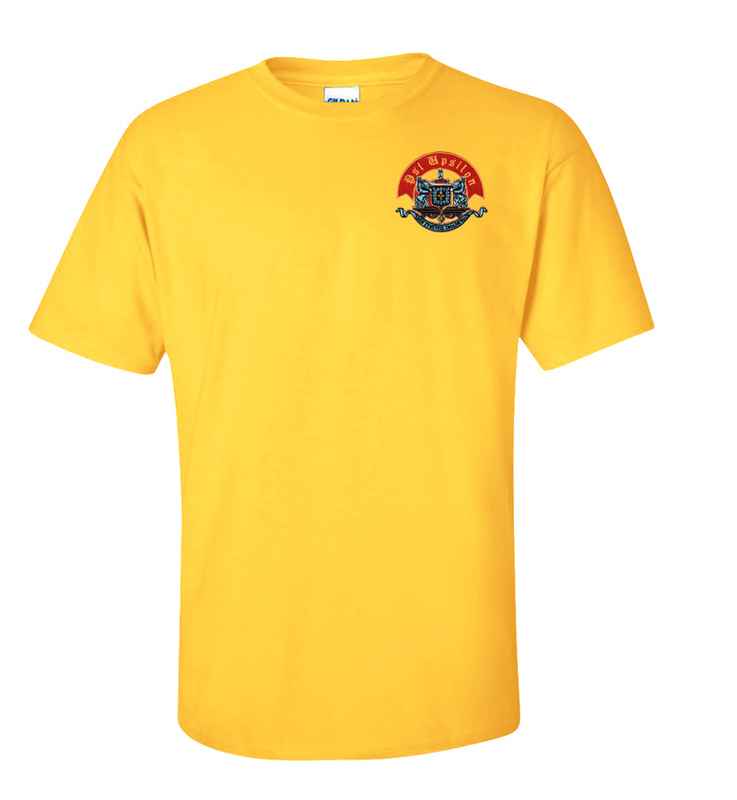 DISCOUNT-Psi Upsilon Crest - Shield Shirt