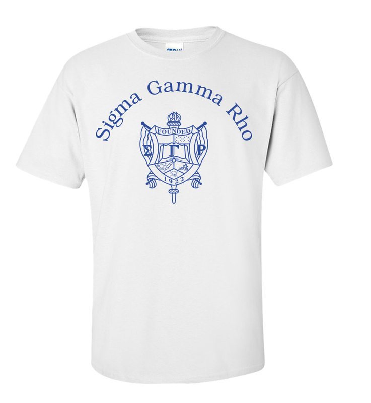 Sigma Gamma Rho World Famous Crest - Shield Tee