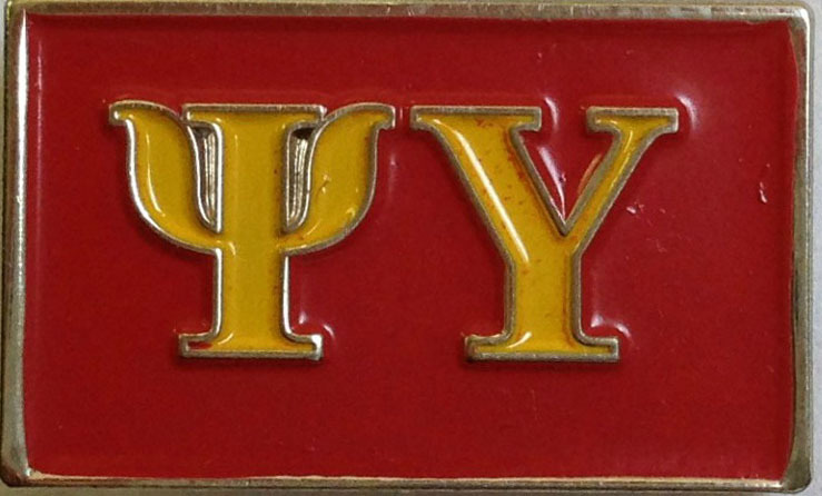 Psi Upsilon Lapel Pin