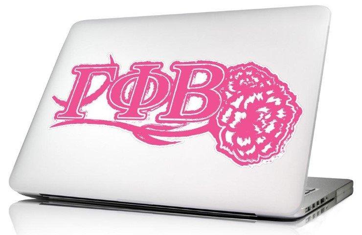 Gamma Phi Beta 10 x 8 Laptop Skin/Wall Decal