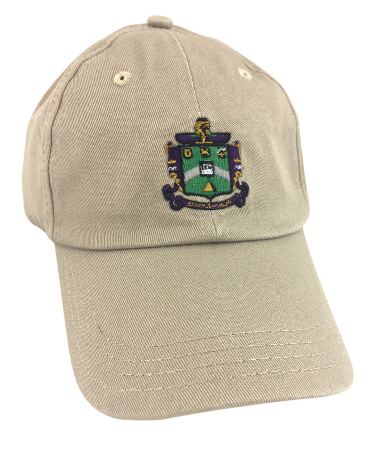 Delta Sigma Phi Fraternity Discount Crest - Shield Hats