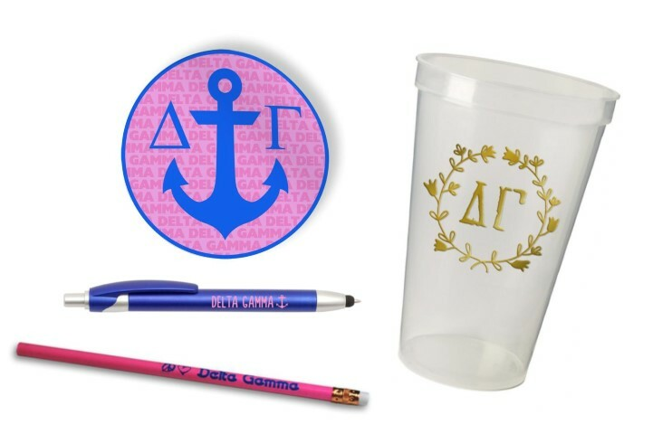 Delta Gamma Sorority Mascot Set $8.99