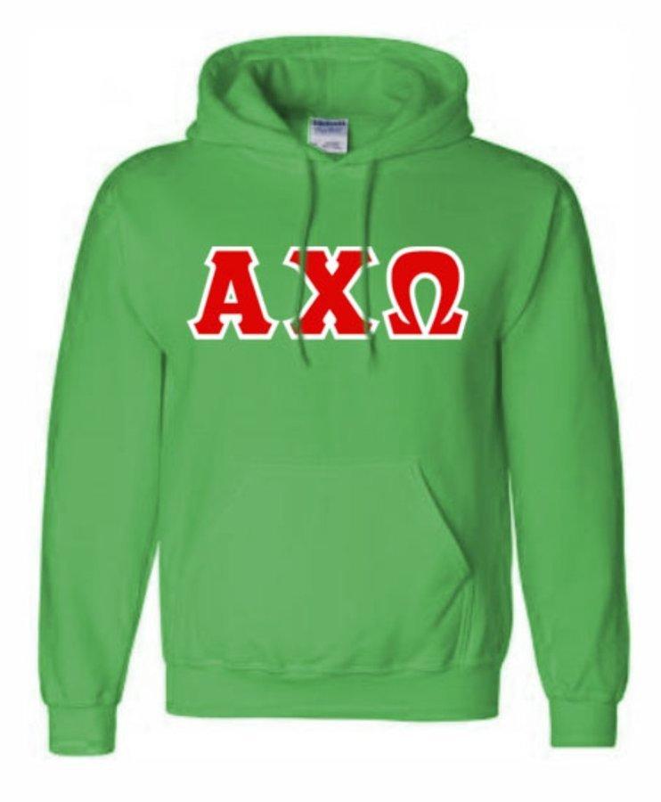 Alpha Chi Omega Hand Sewn Sweatshirts Hoodie