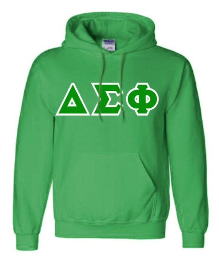 Delta Sigma Phi Sewn Lettered Sweatshirts