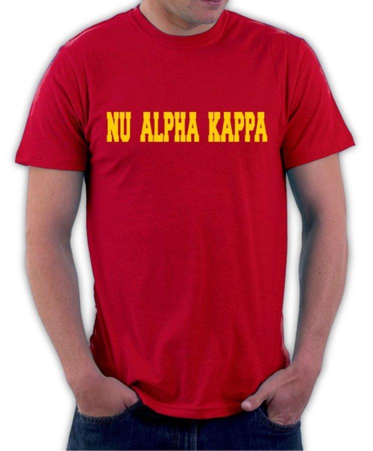 Nu Alpha Kappa College Shirt
