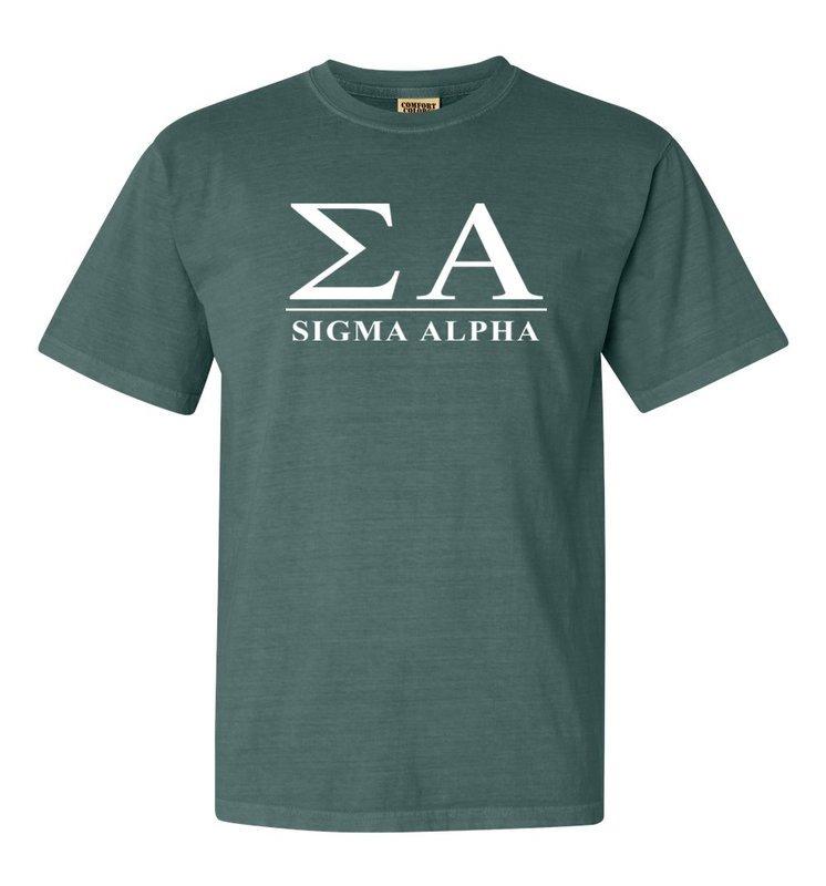 Sigma Alpha Comfort Colors Heavyweight T-Shirt