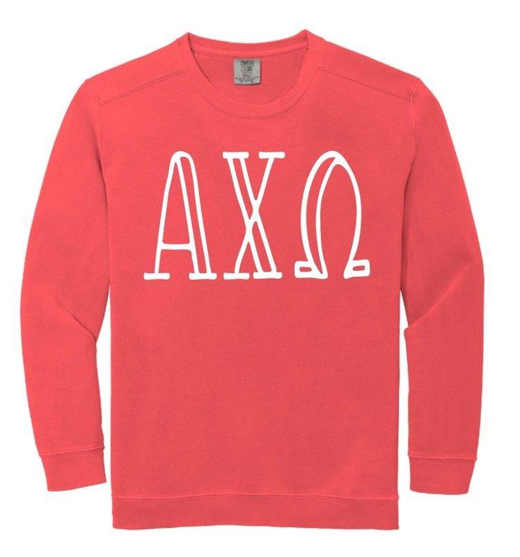 Sorority Comfort Colors Crewneck Sweatshirt