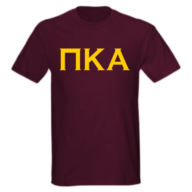 Discount Lettered Copper Greek Tee