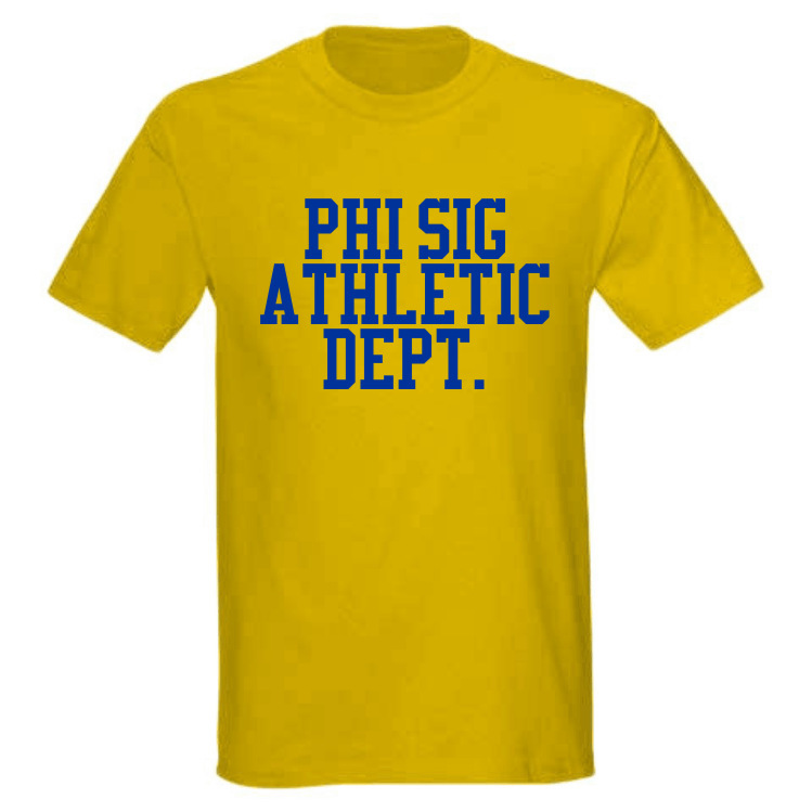 Greek Athletic Dept. Tee