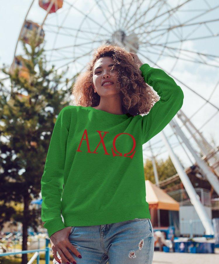 Alpha Chi Omega University Crewneck Sweatshirt