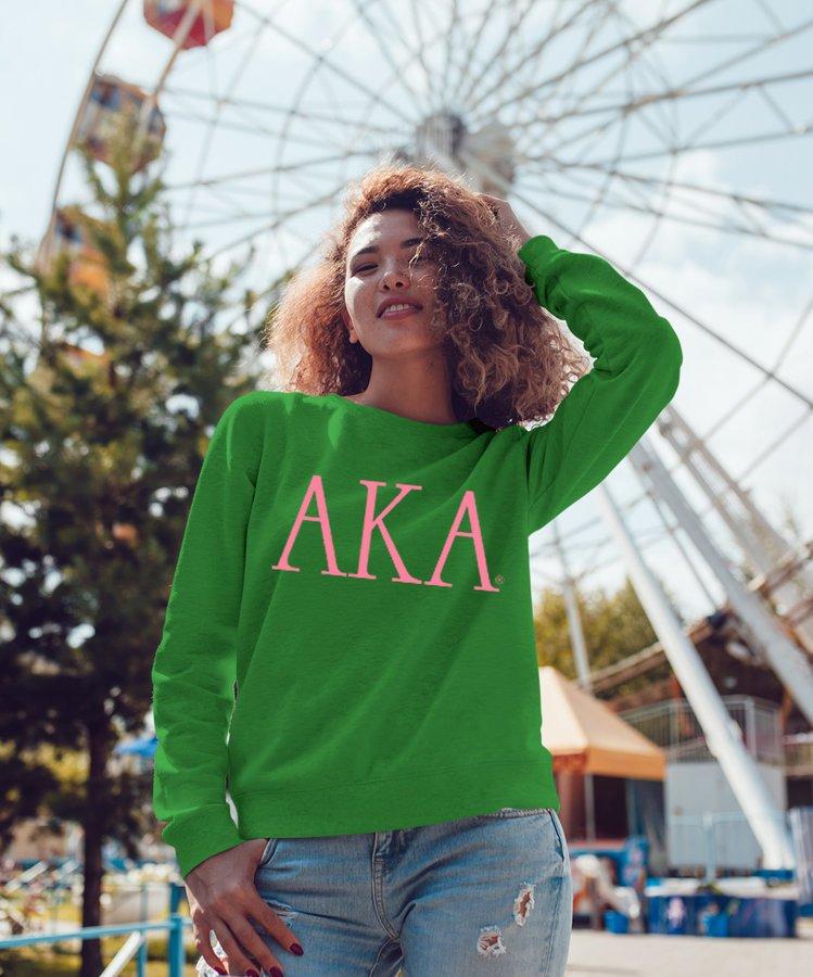 Alpha Kappa Alpha University Crewneck Sweatshirt