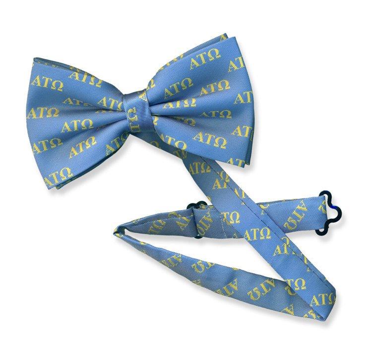 Alpha Tau Omega Bow Tie - Woven