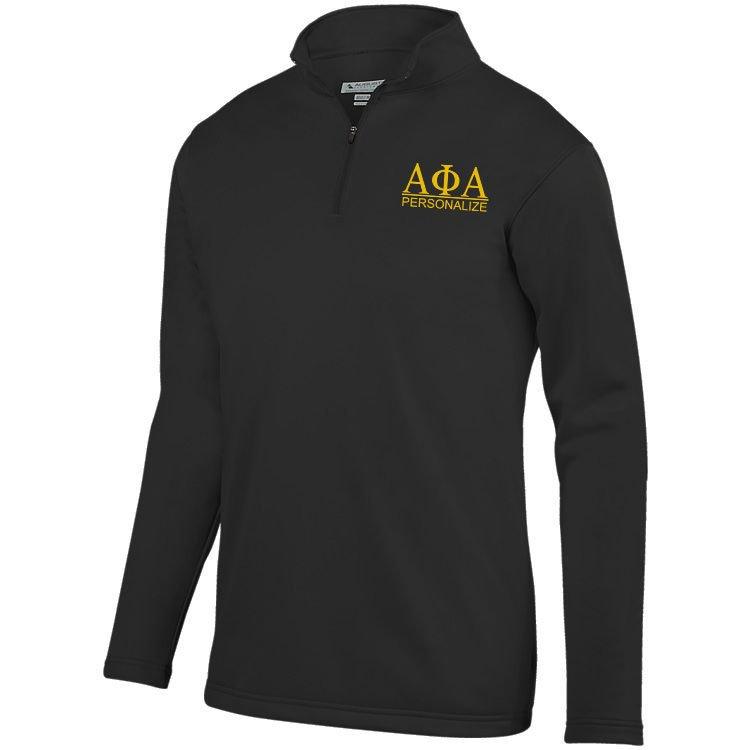Alpha Phi Alpha- $39.99 World Famous Wicking Fleece Pullover