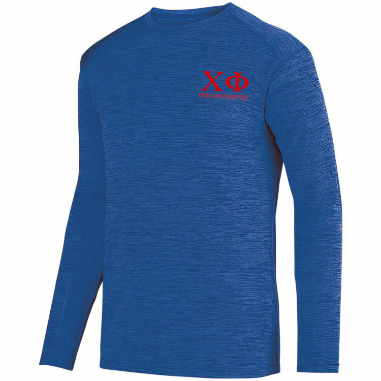 Chi Phi- $22.95 World Famous Dry Fit Tonal Long Sleeve Tee