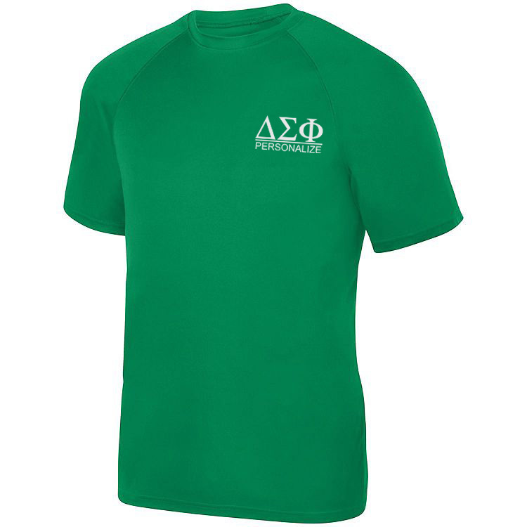 Delta Sigma Phi- $15 World Famous Dry Fit Wicking Tee