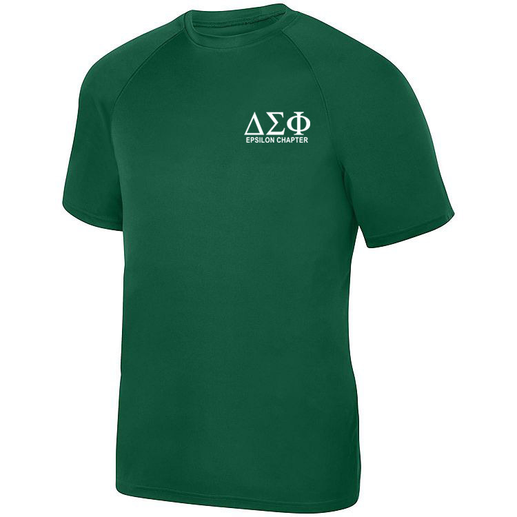 Delta Sigma Phi- $17.95 World Famous Dry Fit Wicking Tee
