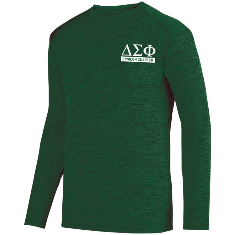 Delta Sigma Phi- $20 World Famous Dry Fit Tonal Long Sleeve Tee