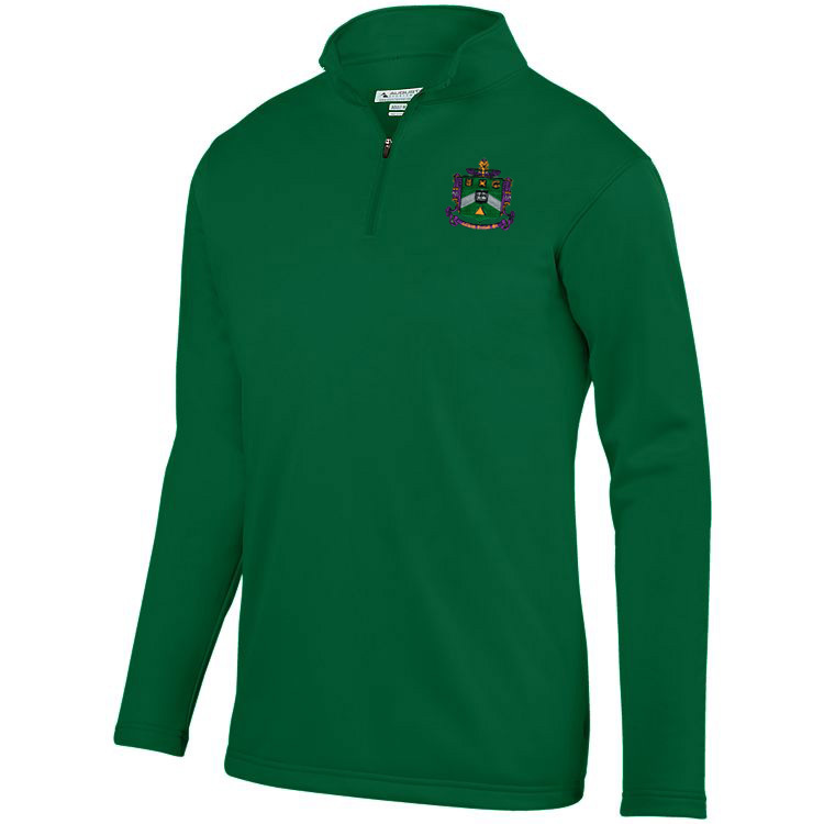 DISCOUNT-Delta Sigma Phi-  World famous-Crest - Shield Wicking Fleece Pullover