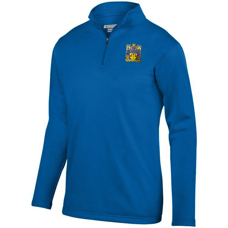 DISCOUNT-Delta Upsilon-  World famous-Crest - Shield Wicking Fleece Pullover