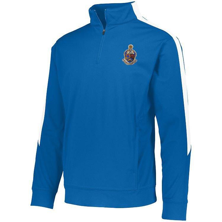 DISCOUNT-Alpha Kappa Psi-  World Famous Greek Crest - Shield Medalist Pullover
