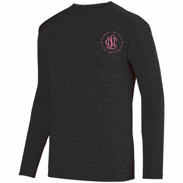 National Charity League- $20 World Famous Dry Fit Tonal Long Sleeve Tee