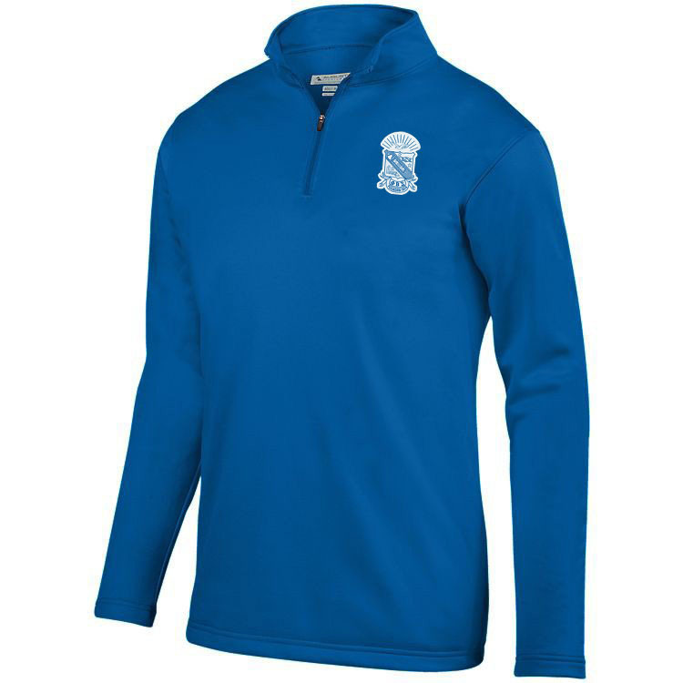 DISCOUNT-Phi Beta Sigma-  World famous-Crest - Shield Wicking Fleece Pullover