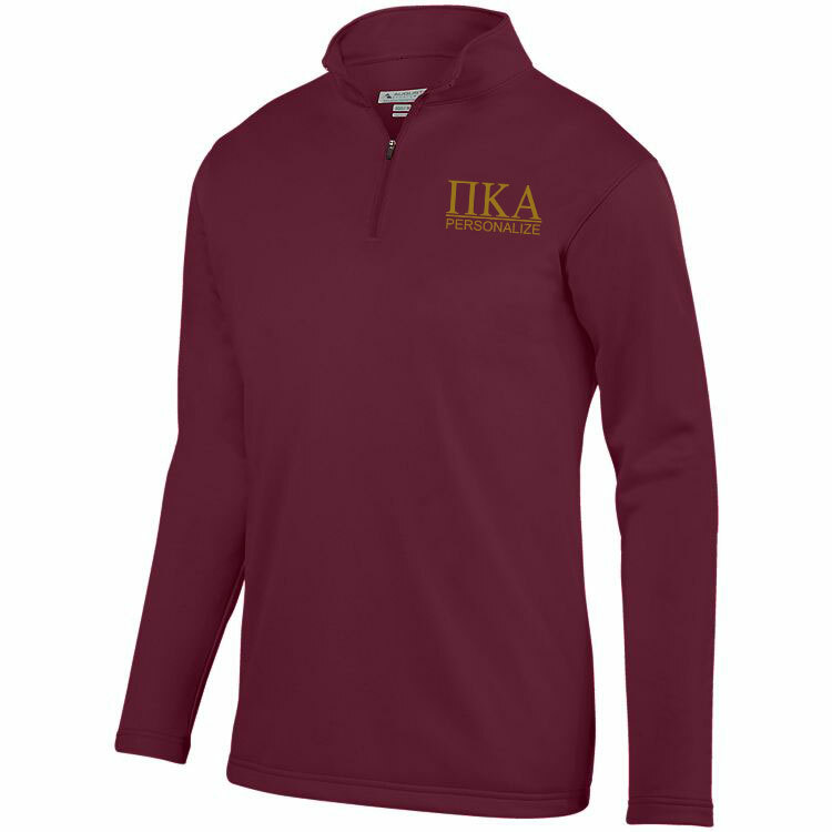 Pi Kappa Alpha- $40 World Famous Wicking Fleece Pullover
