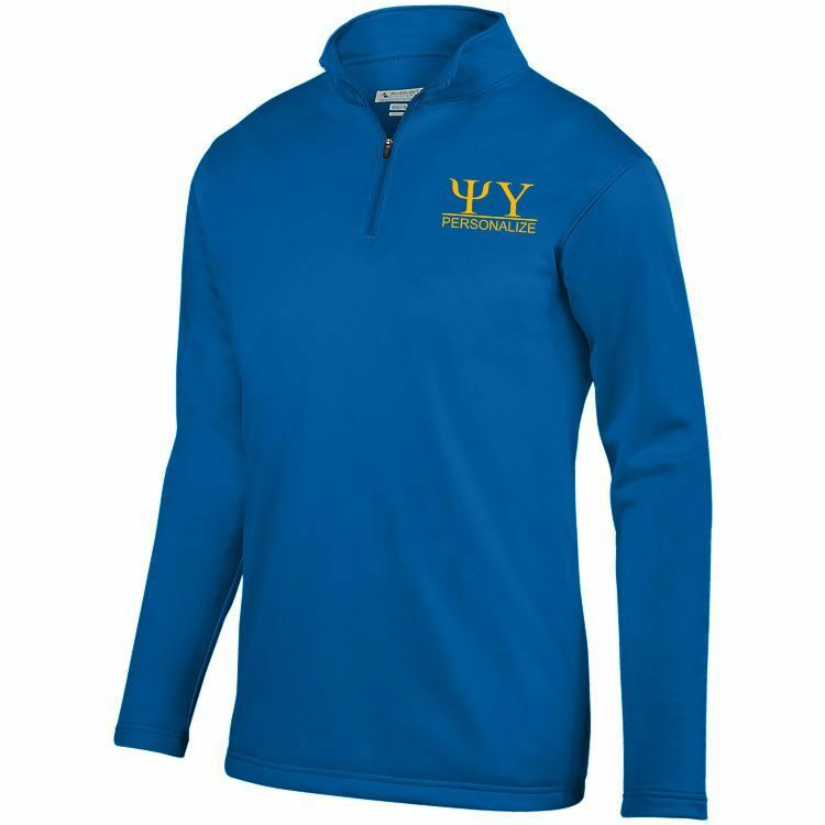 Psi Upsilon- $40 World Famous Wicking Fleece Pullover