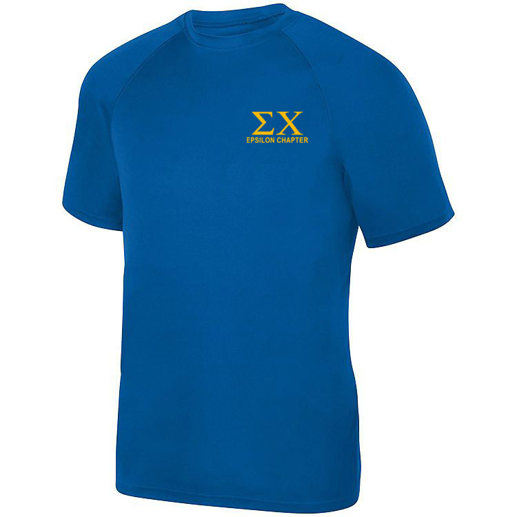 Sigma Chi- $19.95 World Famous Dry Fit Wicking Tee