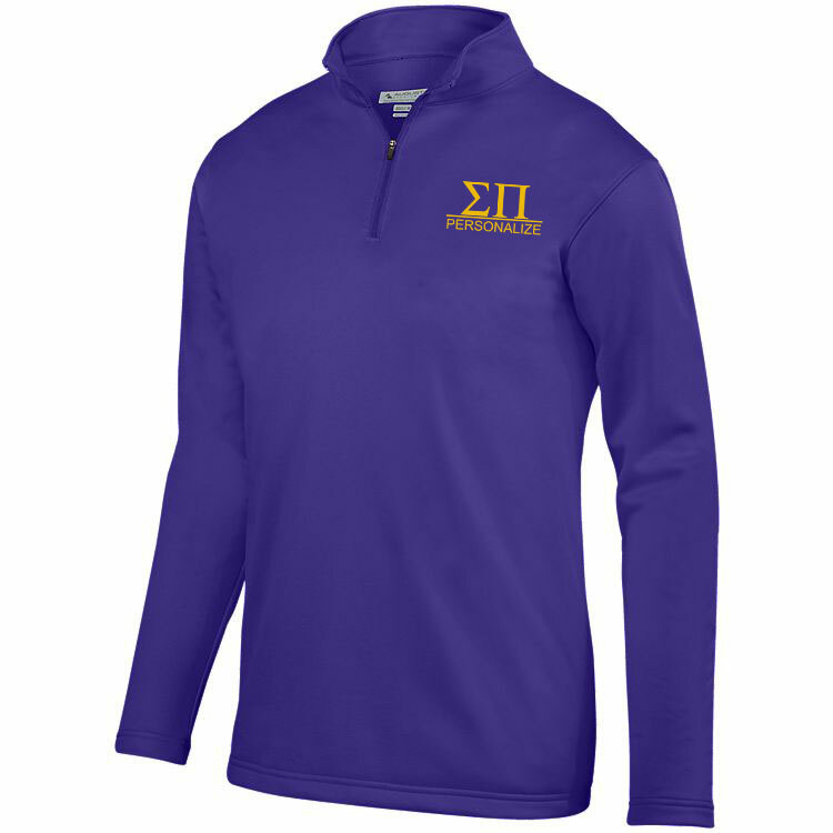 Sigma Pi- $39.99 World Famous Wicking Fleece Pullover