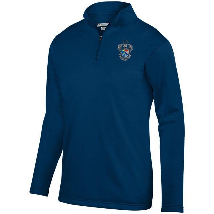 DISCOUNT-Sigma Tau Gamma-  World famous-Crest - Shield Wicking Fleece Pullover