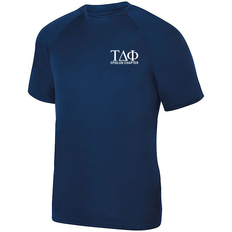 Tau Delta Phi- $19.95 World Famous Dry Fit Wicking Tee