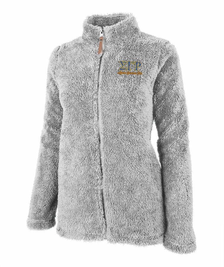 Sigma Gamma Rho Newport Full Zip Fleece Jacket