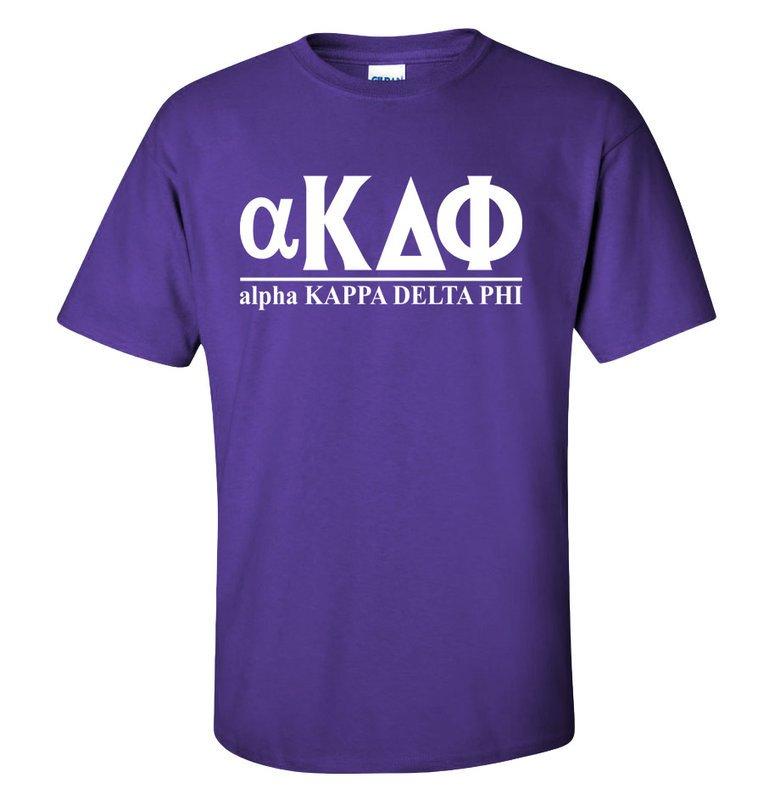 alpha Kappa Delta Phi Line T-Shirt