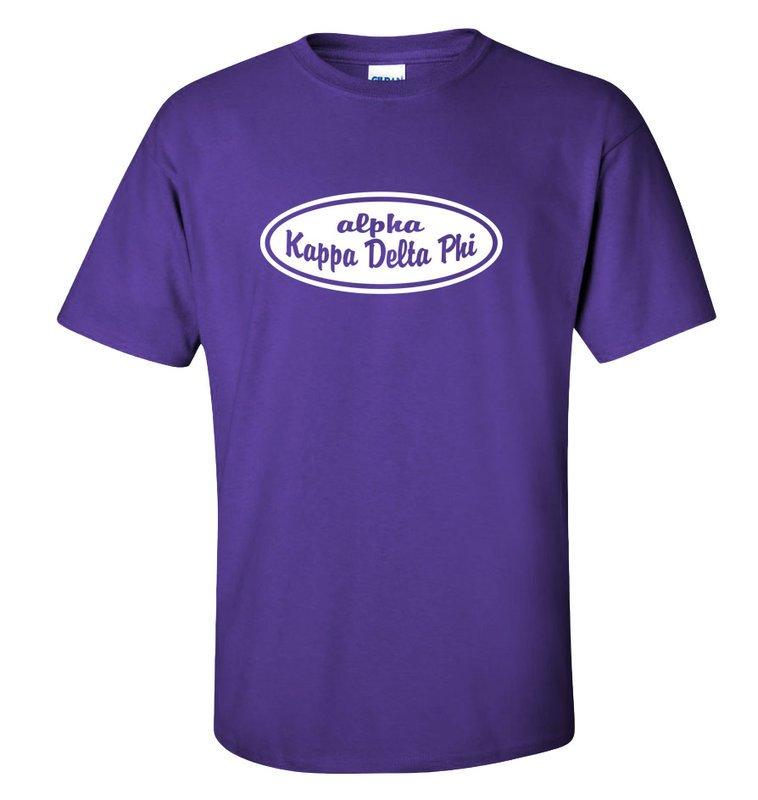 alpha Kappa Delta Phi Patch T-Shirt