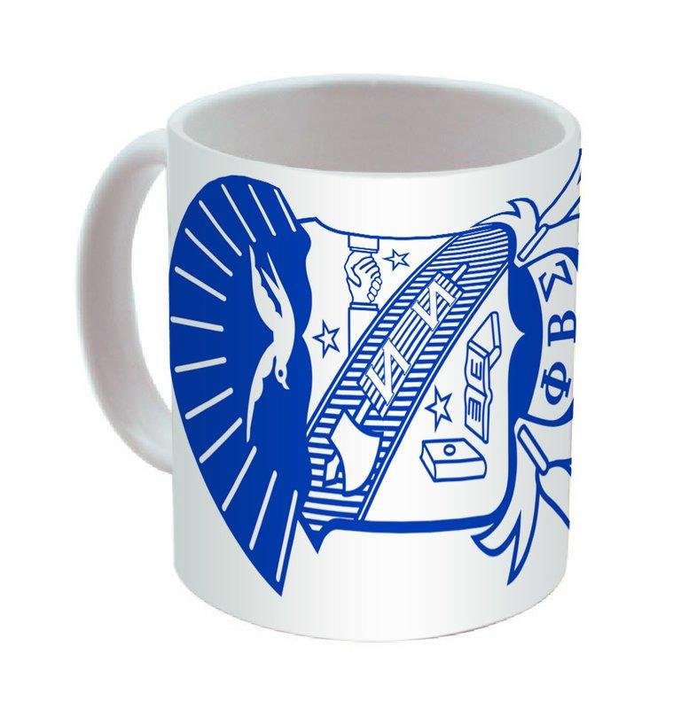 Phi Beta Sigma Mega Crest - Shield Coffee Mug