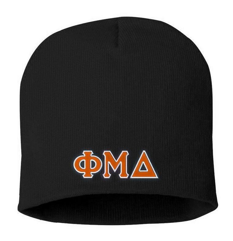 Phi Mu Delta Big Letter Skull Cap SALE  21.95. - Greek Gear® bc34f6f2c2c9