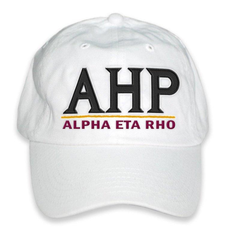Alpha Eta Rho World Famous Line Hat