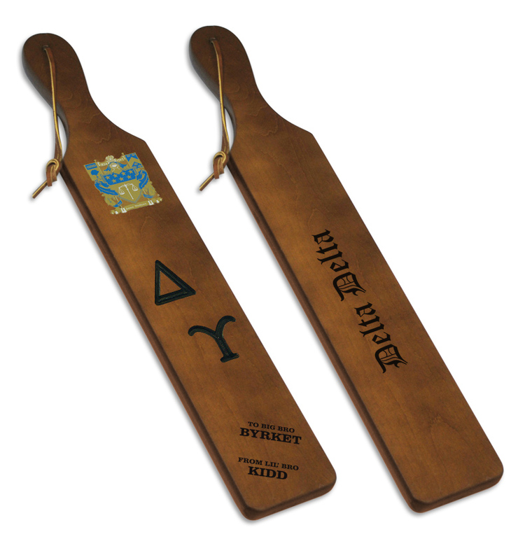 Delta Upsilon Custom Fraternity Paddle