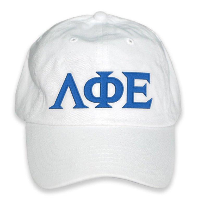 Lambda Phi Epsilon Letter Hat